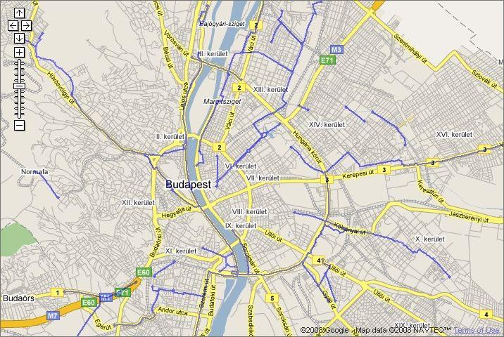kerékpárutak térkép Biciklis térkép | Lakihegy Rádió kerékpárutak térkép